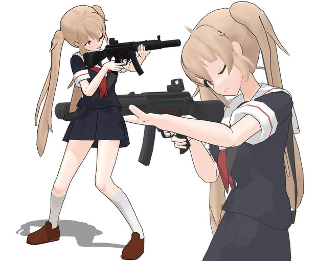 せえらあふくと機関銃