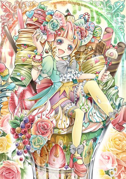 お菓子の国のお姫様 Kaotan さんのイラスト ニコニコ静画 イラスト