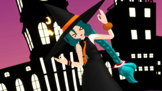 【モデル配布】魔女衣装【あにまさ式改変】