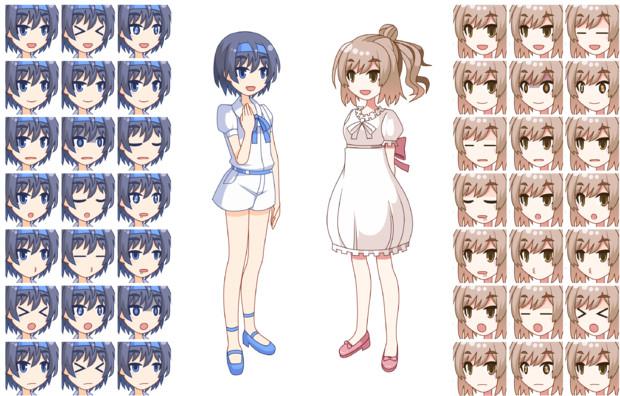 CeVIOsの表情差分を作ってみたよ(Ver1.1)