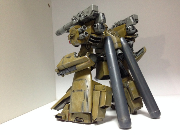 【完成品】メタス重力下運用試験機 Type-B(背面)