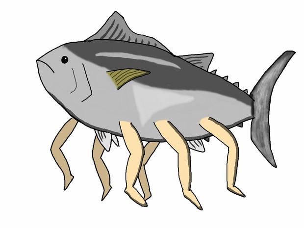お魚さん Udon粉ctrlz さんのイラスト ニコニコ静画 イラスト