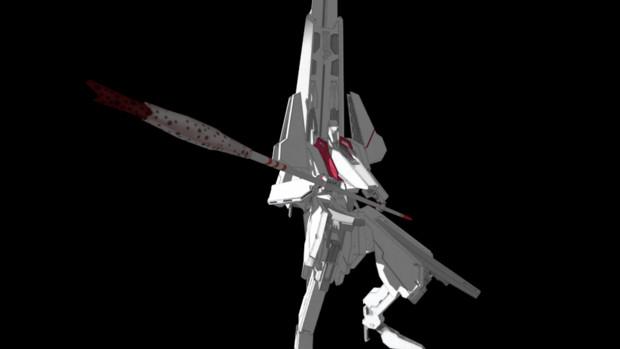 シドニアの騎士アニメ版 序盤のあの1カットを再現してみた(背景なし)。