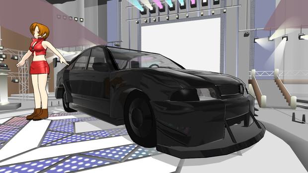 Audi A4 race spec
