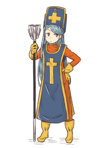 ドラクエⅢの女僧侶