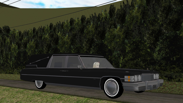 [MMD] Cadillac Hearse (キャデラック霊柩車)