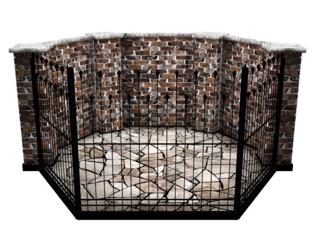 08_煉瓦の壁のステージ