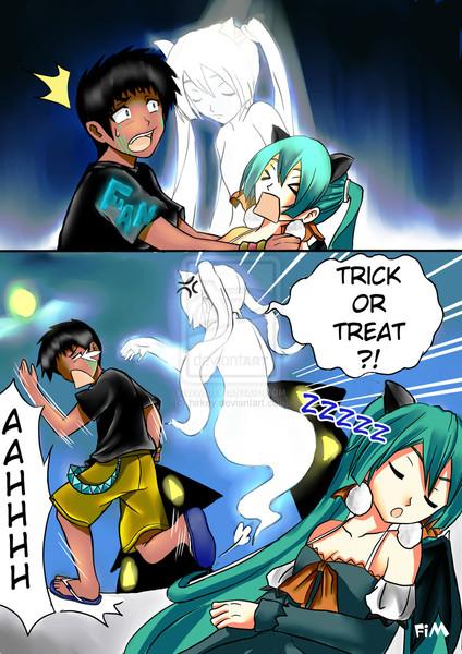 Miku and Alan Happy Halloween?? Part 3/3
