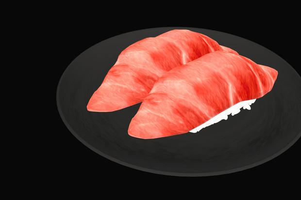 【配布】お寿司(トロ)