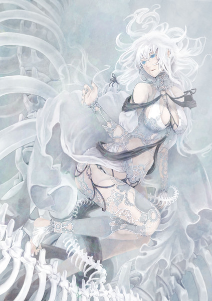 石灰の沼の魔女