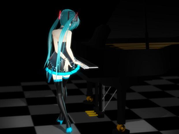 4分間のピアニスト【MMD楽器選手権】