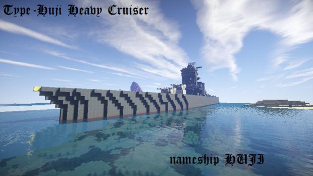 【大和帝國 海軍】富士型重巡洋艦「Minecraft」