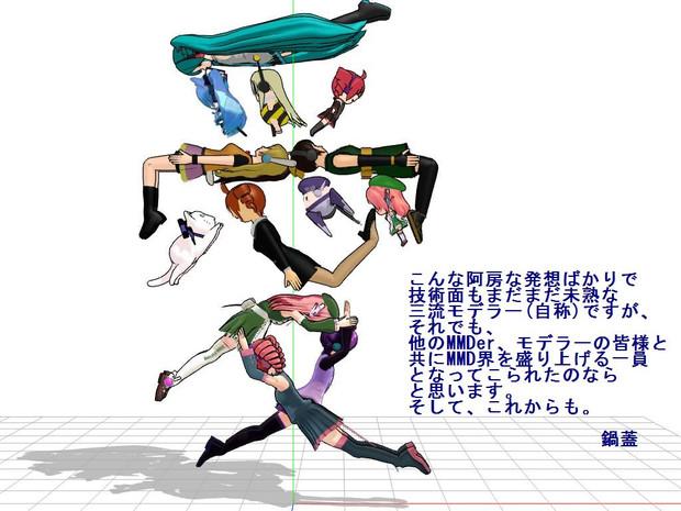 お世話になっているキャラ集合【MMDは愛2014】