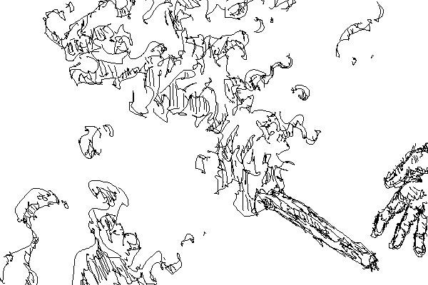 〔作画〕松明のアニメーション