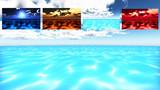 【MMDステージ配布】水面 D6【揺らぐ水面反射】