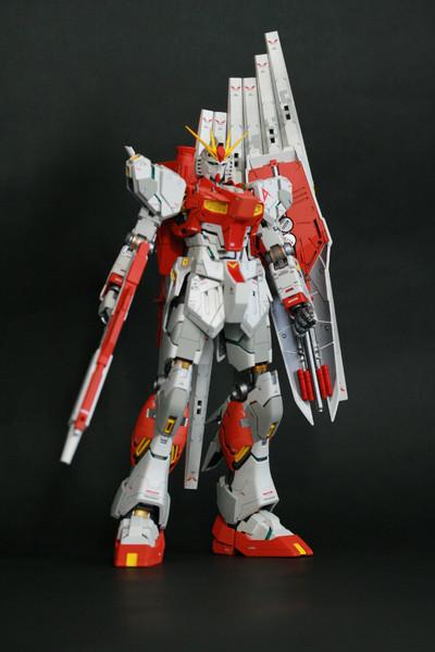 [MG] RX-93 ν GUNDAM ver.ka ≪正面立ち姿≫