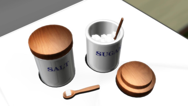 調味料入れ(塩・砂糖)【アクセサリー配布】