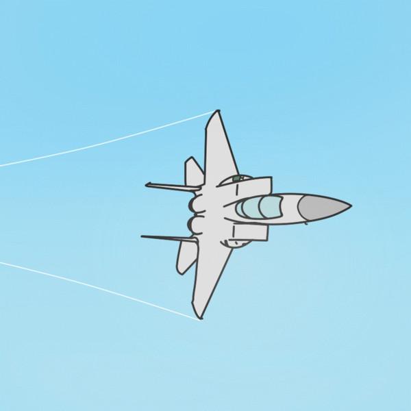 F-15だって撃墜される時ゎ撃墜されるんだよ