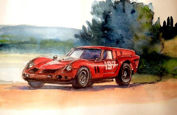 フェラーリ250GT bread van