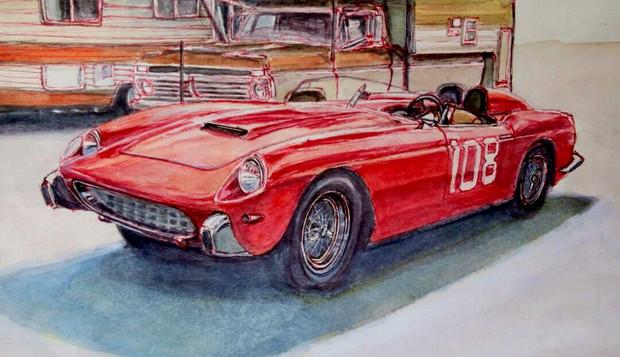 フェラーリ250GT スパイダー