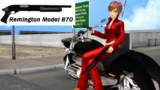 【MMD】レミントンM870PG【モデル配布】