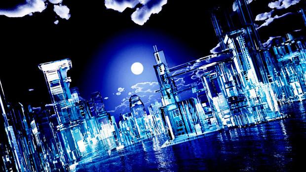 再配布【MMDステージ配布】ルーシーの街 Ver1.3【スカイドームF5】