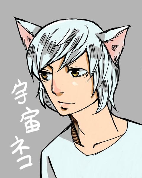 【ねこかます】宇宙猫(保護猫)