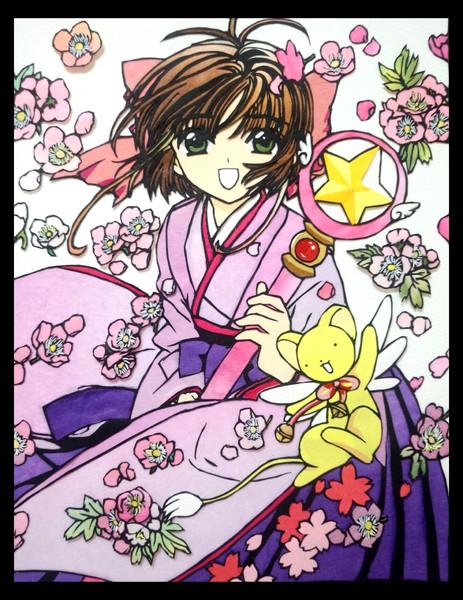 桜ちゃんとケロちゃん