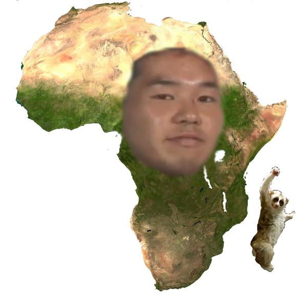 24歳、アフリカです