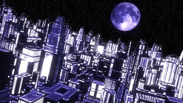 再配布【MMDステージ配布】アニメっぽい夜景Ver1.2 【スカイドームF7】