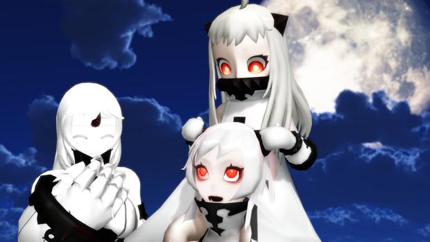 【MMD艦これ】姉妹っぽい?
