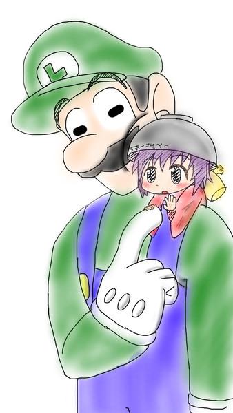 【手描き】ルイージと針妙丸