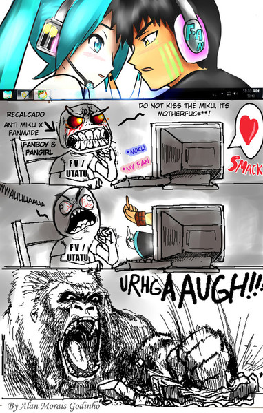 Miku x Alan (fanmade) Haters Gonna hate....