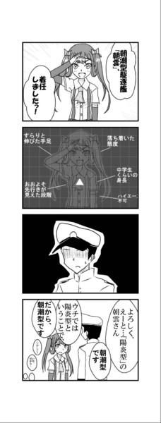 朝雲vs朝潮提督