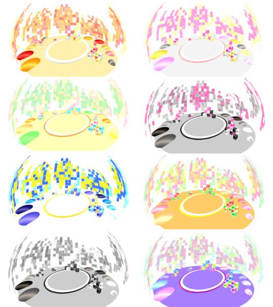 こんなのつくってみた16 追加カラー【ステージ配布あり】