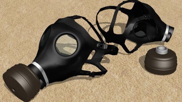 【PMX装備品】ガスマスク【配布】