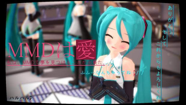 感謝のキモチ【MMDは愛2014】