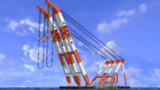 3700t吊 起重機船