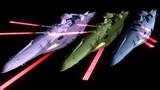 【モデル配布】ハイゼラード級一等航宙戦艦