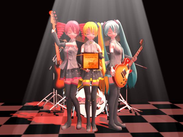【MMD楽器選手権】参加賞をいただきました。