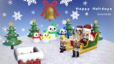【進撃のMMD】ドットミケ班でHappy Holidays!