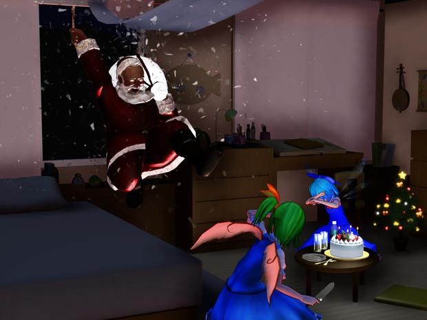 クリスマス静画②