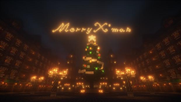 [Minecraft] クリスマスツリー [アウラレアス]