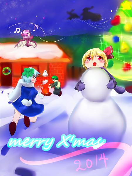 子どもたちのクリスマス