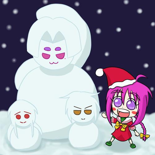 クリスマス子日ちゃん