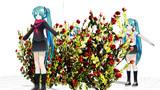 【MMDアクセサリ配布】赤い薔薇 J7