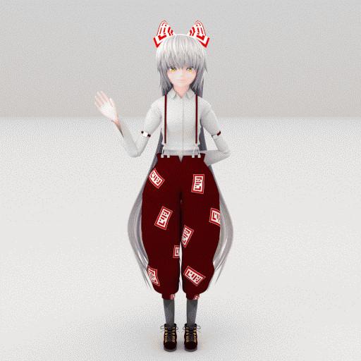 藤原妹紅(GIF)