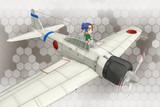 【MMD艦これ】零式艦戦21型妖精ver1.0