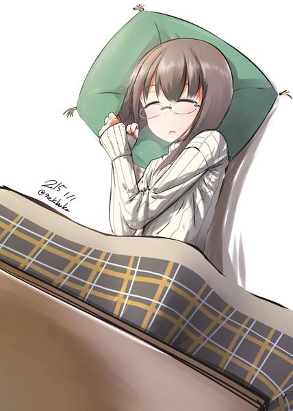 寝て正月を過ごす大鳳