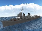【MMD海軍】 特2A型駆逐艦「潮」最終武装 1.01
